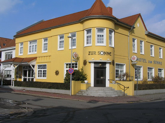 Nienburg, Germany: The Outside of the Hotel