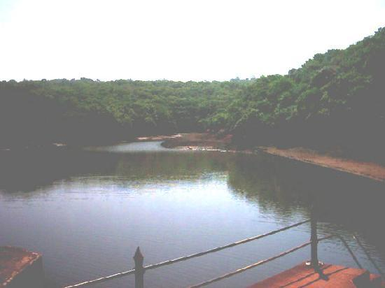 Lonavala, India: A superb view of Bhushi Dam
