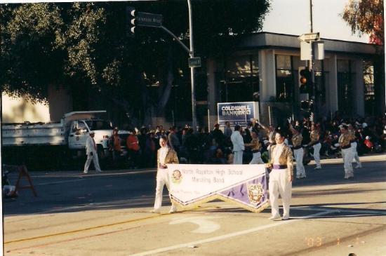 Pasadena, California Rose Bowl Parade 2003