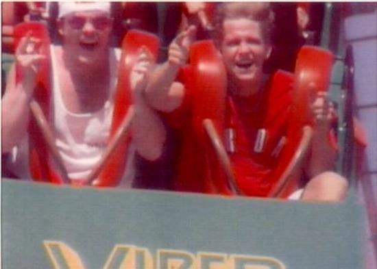 Santa Clarita, كاليفورنيا: ME & DANNY ON THE VIPER  !!