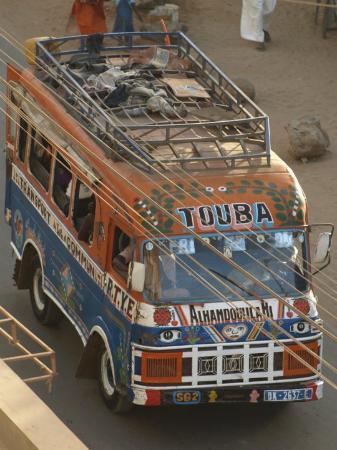 Dakar, Senegal: The car rapide!