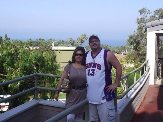 Del Mar, كاليفورنيا: MY HONEY & ME IN DEL MAR ON VACATION