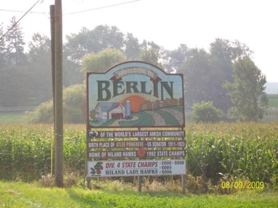Berlin, OH: Great little Inn we stayed at..