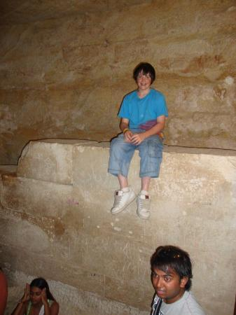 クフ王の大ピラミッドに行った ...