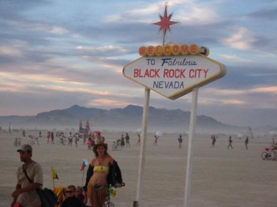 Bilde fra Black Rock City