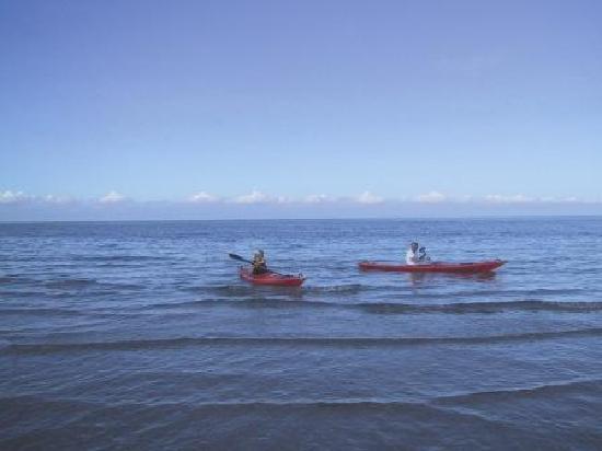 Strandgaarden Badehotel: Sea Kajaks