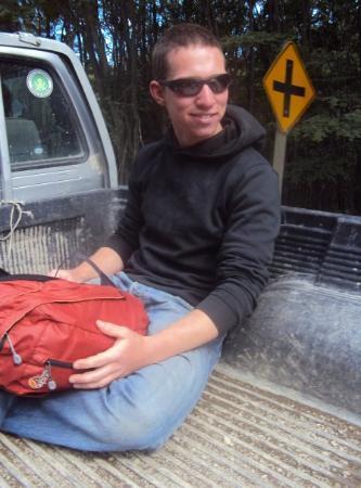 Hitchhiking in Ushuaia