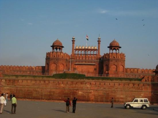Red Fort (Lal Quila): The Redfort