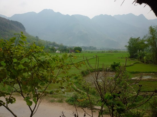 Mai Chau, Vietnam: view on mai chai
