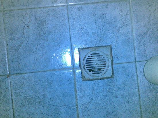 Hotel Fiorella: scarico della doccia