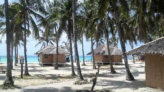 Budyong Beach Resort: コテージ