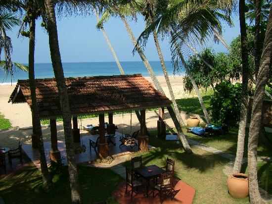 Suite Lanka : Blick vom eigenen Balkon