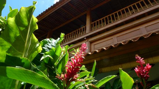 Villa Des Indes: Beautiful tropical garden