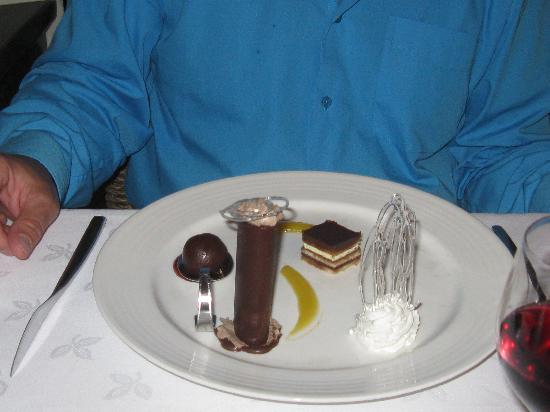 ‪‪Luxury Bahia Principe Ambar Blue Don Pablo Collection‬: dessert resto don pablo‬