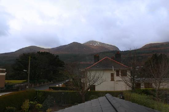 Fairy Glen Bed & Breakfast: View of Slieve Donard from our window