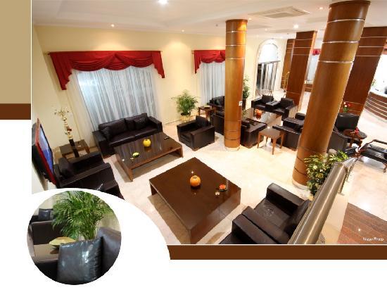 Alkhaleej Hotel: Lobby