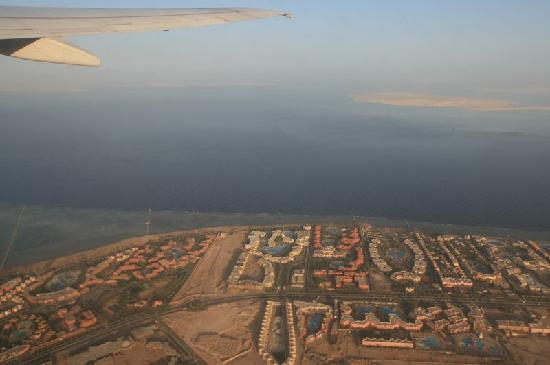 Sharm El Sheikh, Egypt: hotels from the sky