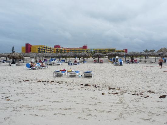 Barceló Solymar: hotel vue du bord de la mer