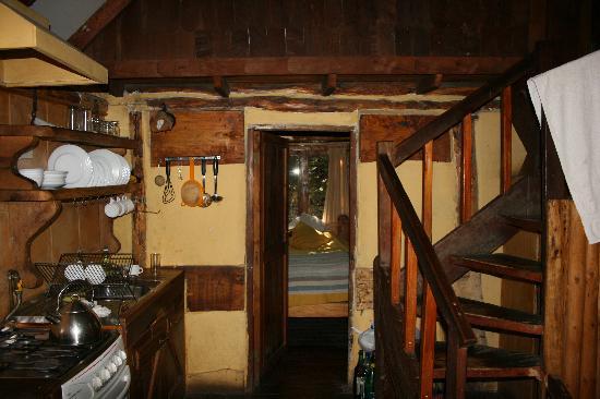 Cascada de las Animas: Inside cabin