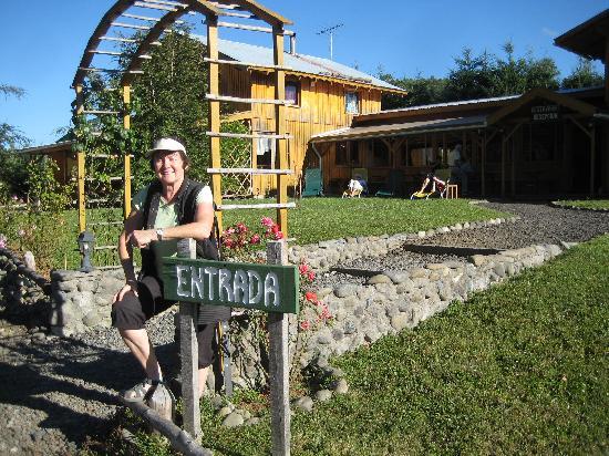 Hosteria Andenrose: Eingang  in der Andenrose