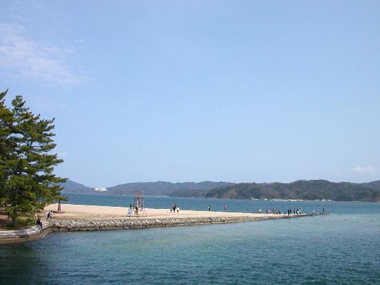 Amanohashidate: 砂浜