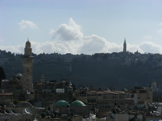 Hashimi Hotel: View from the roof terrace - worth price alone!