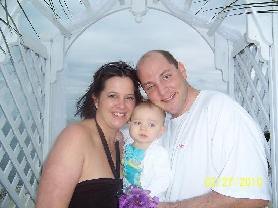 Coconut Cove Resort and Marina: One Year Anniversary/Family photo
