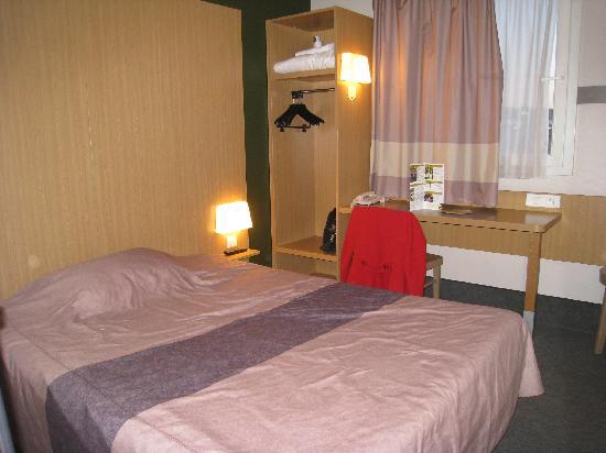 B&B Hôtel Creil Chantilly : la chambre