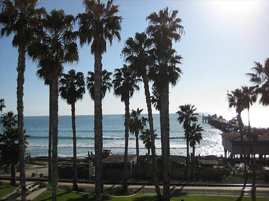 San Clemente, Californië: View from Casa Tropicana