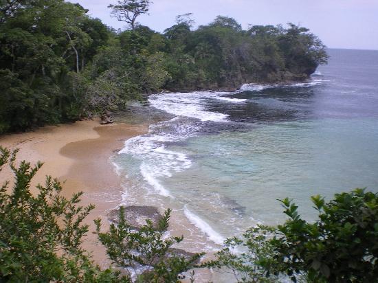 Tesoro Escondido: plage vue de la terrasse