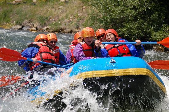 Mile Hi Rafting: 'Sure Shot' beginner rafting trip fun for all ages
