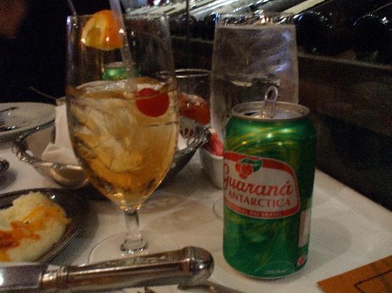 Fogo de Chao Brazilian Steakhouse: Brazilian soda, good stuff