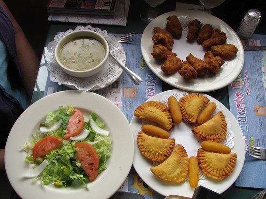 El Ancla: Wonderful Lunch!