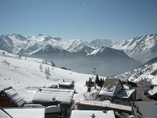 La Vallee Blanche : View from our balcony