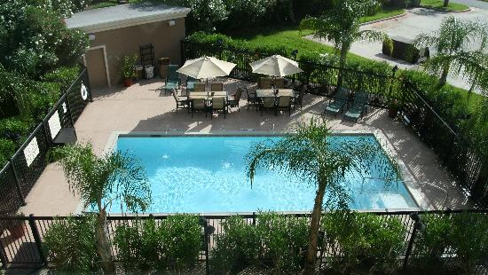 Hampton Inn Houston NASA-Johnson Space Center: Beautiful Tropical Swimming Pool