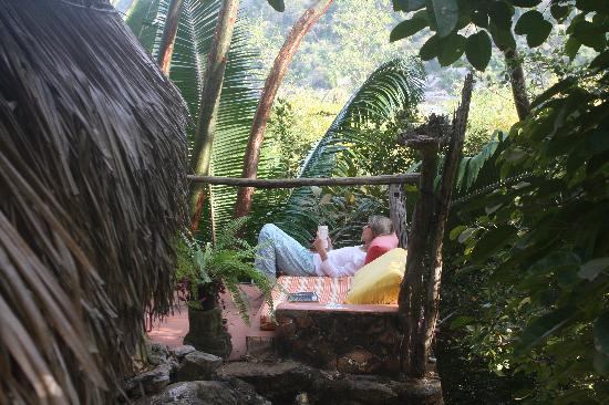 Casa de los Sueños: We spent mornings here luxuriating in the jungle and the birds