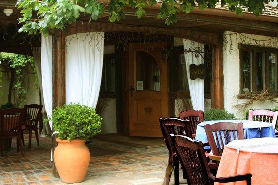 Caveau Saint Nicolas: Frontansicht des Restaurants