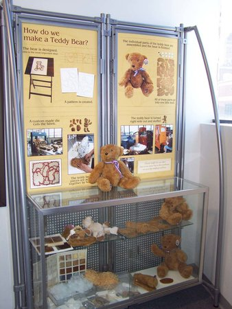 Chelsea, MI: Teddy bear parts