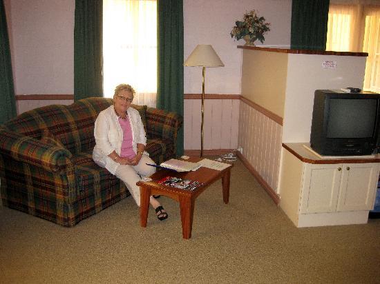 Pioneer Motel : LIVING AREA