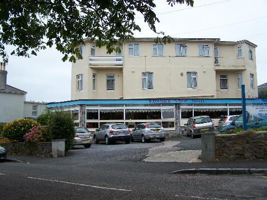Exmouth View Hotel : Vorderansicht