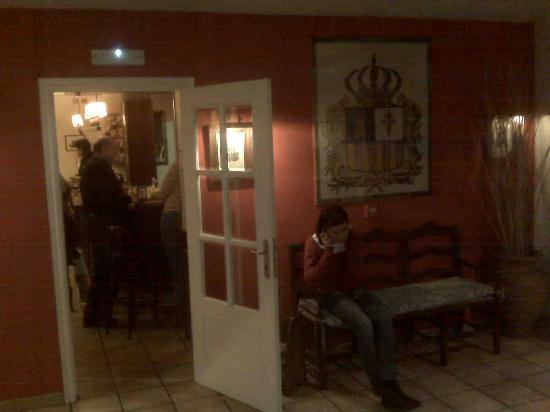 Hotel Villa de Utrillas: en la recepción