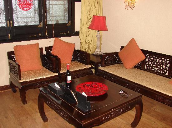 BuddhaZen Hotel : salon