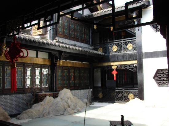 BuddhaZen Hotel : la cour interieur