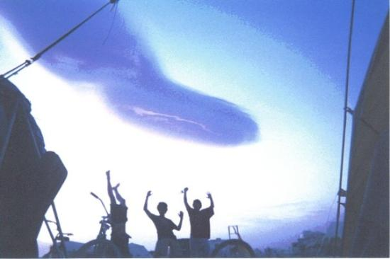 """Sparks, NV: weird photo the kids took at the camp of a strange cloud that Alan kept calling a """"rhino""""????? w"""
