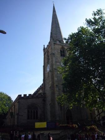 St Peter's Church, Nottingham - September 2008