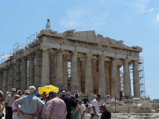 Parthenon: Masovka jak hovado...Acropolis, Athina, Ελλάδα