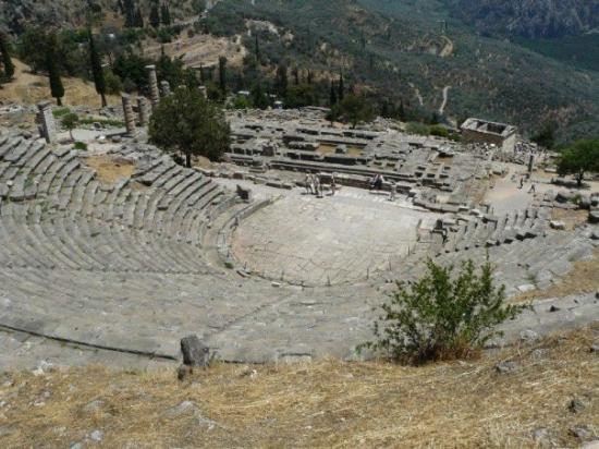 Delfiruinene: Delfoi, Ελλάδα