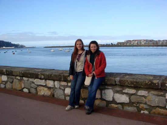 Hondarribia, Spanien: me and ana rut