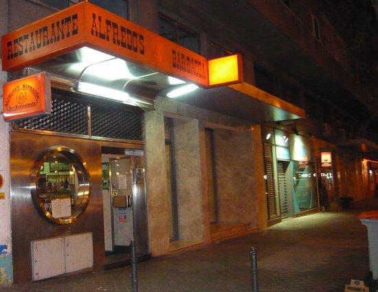 Alfredo's Barbacoa : entrada