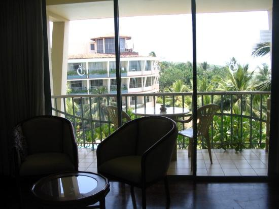 Eden Resort & Spa : view from the room